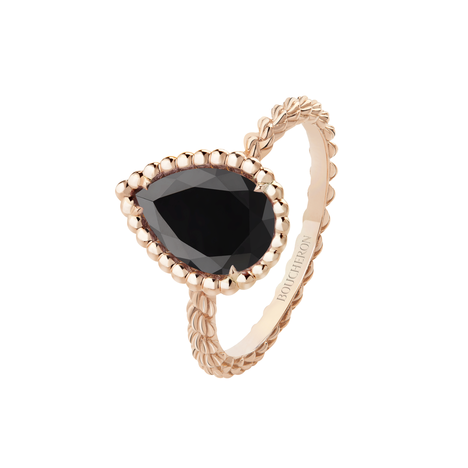 Boucheron Serpent Boheme onyx ring