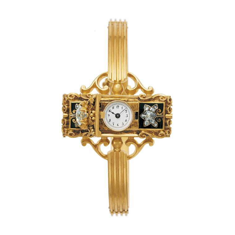 Patek Philippe Grand Exhibition London Patek 1868 First Women wristwatch