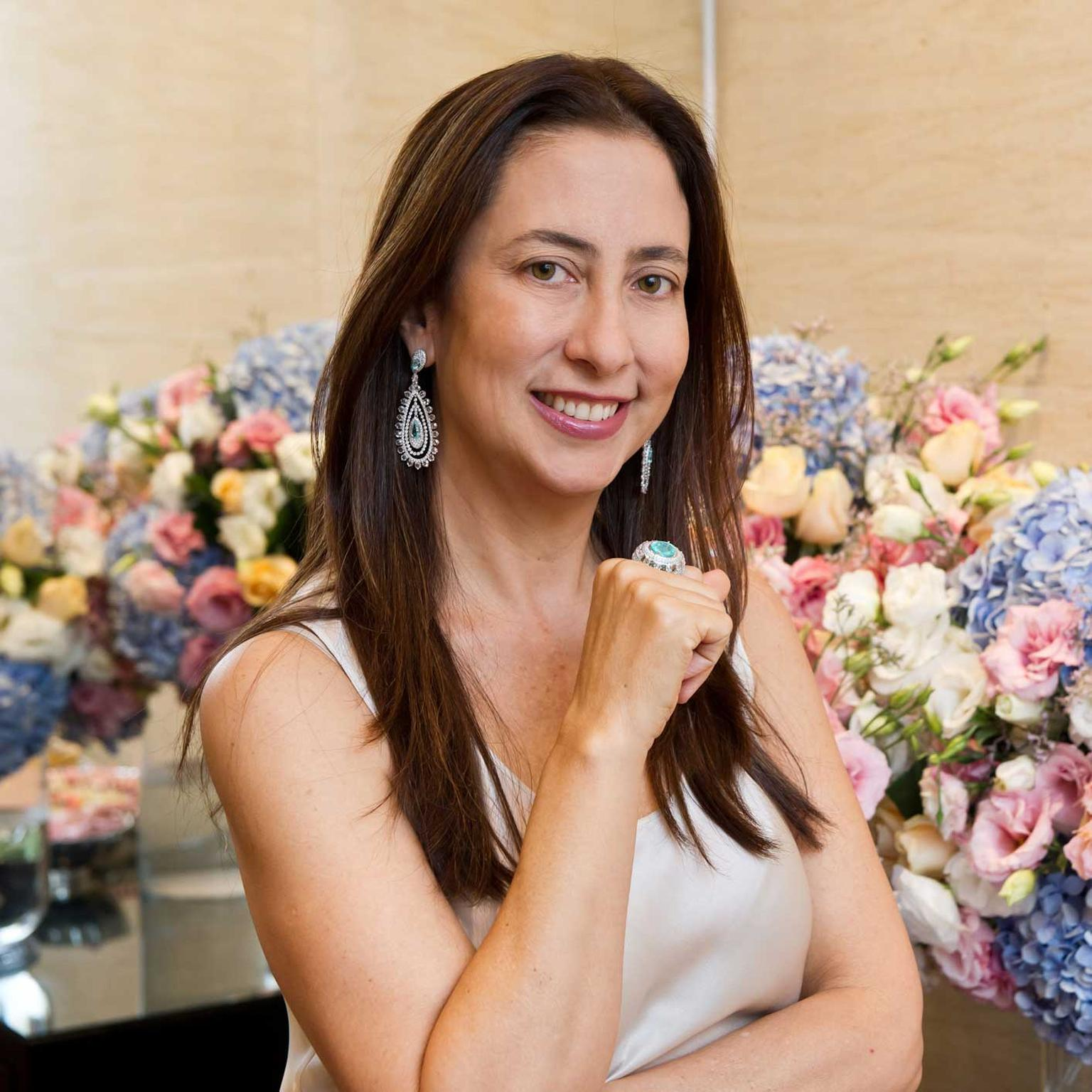 Carla Amorim is one of the most successful Brazilian jewellery designers in history