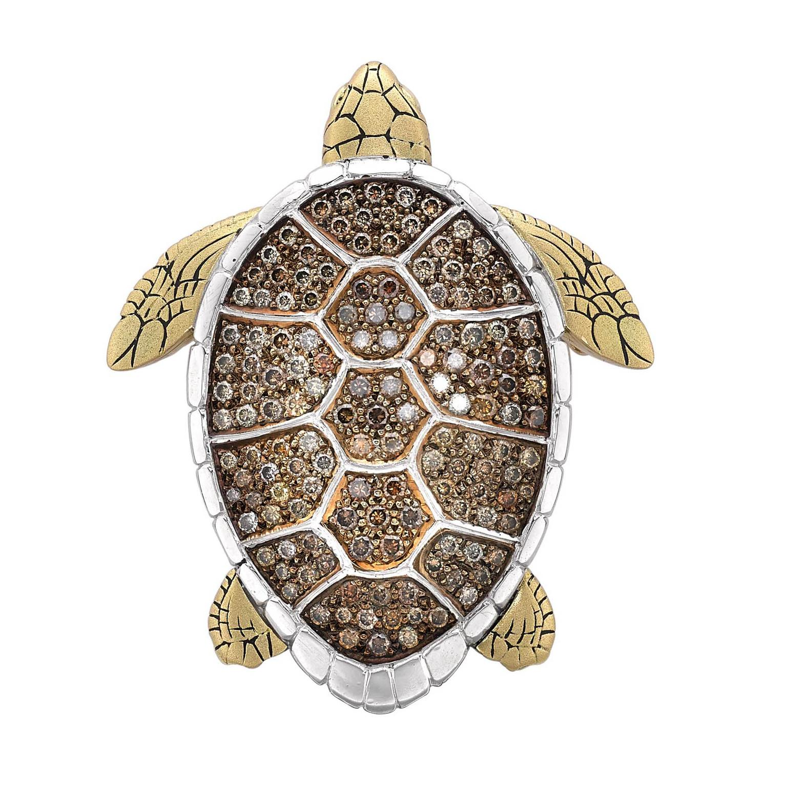 Theo Fennell Turtle Brooch