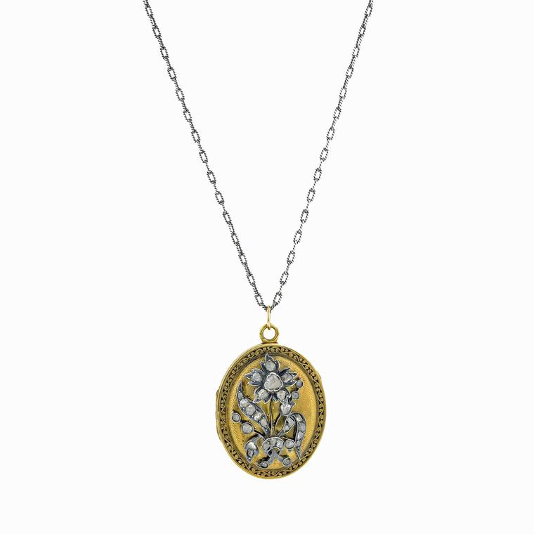 Doyle & Doyle flower locket