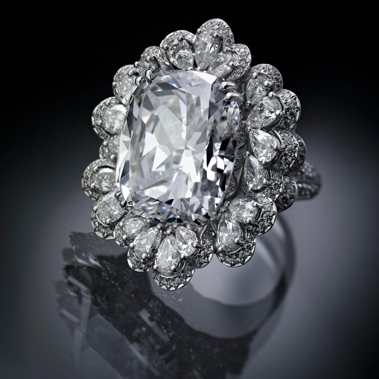 Chopard Garden of Kalahari 20 carat diamond ring