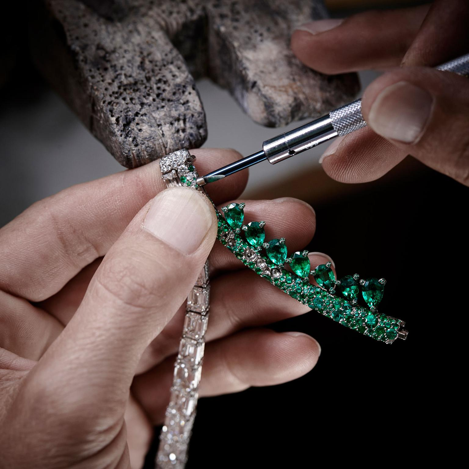 The Art of de GRISOGONO Creation 1 emeralds