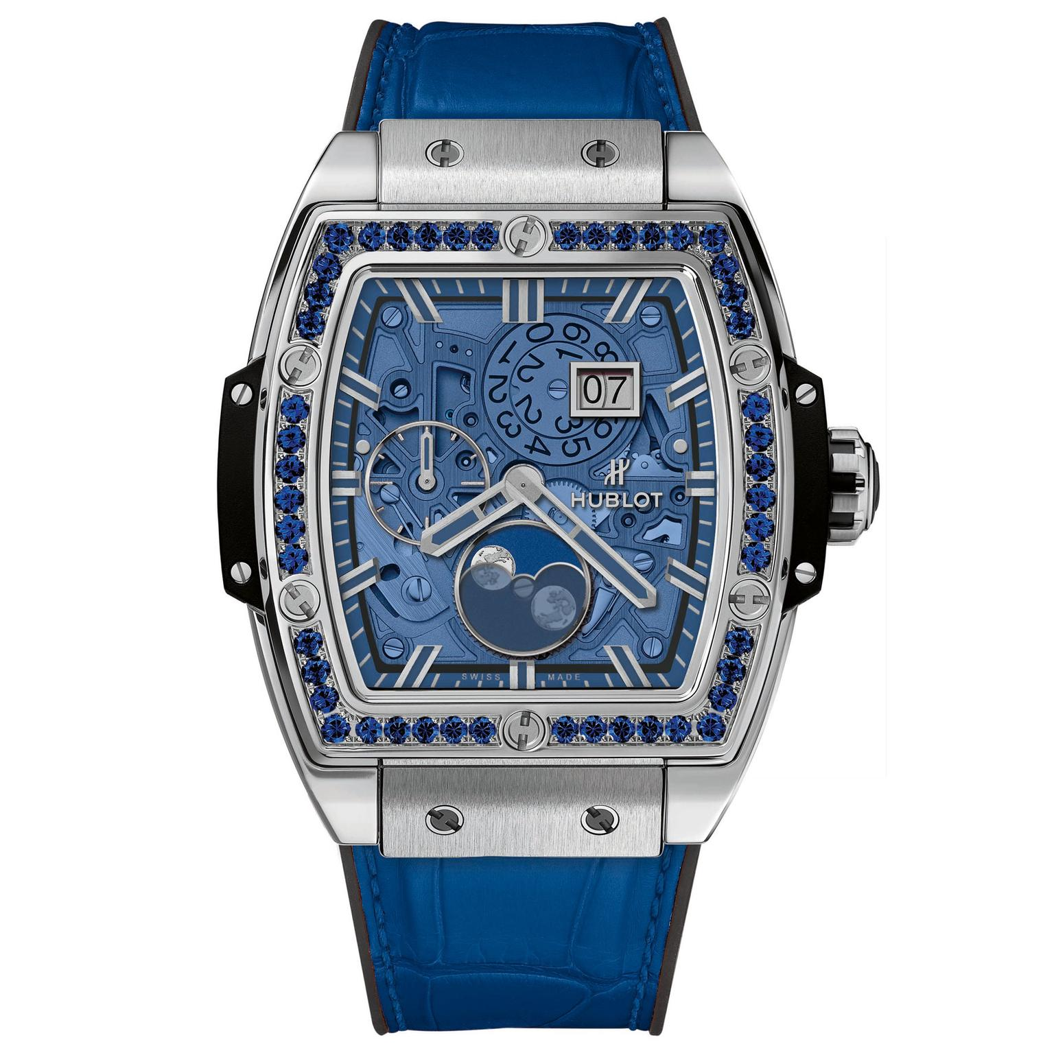 Hublot Spirit of Big Bang Moonphase Titanium Blue