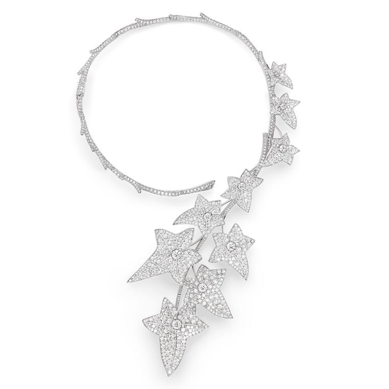 Boucheron Ivy high jewellery diamond necklace