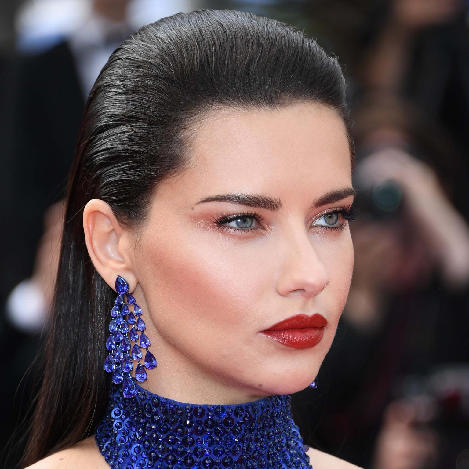 Adriana Lima in Chopard jewels Cannes Film Festival 2019