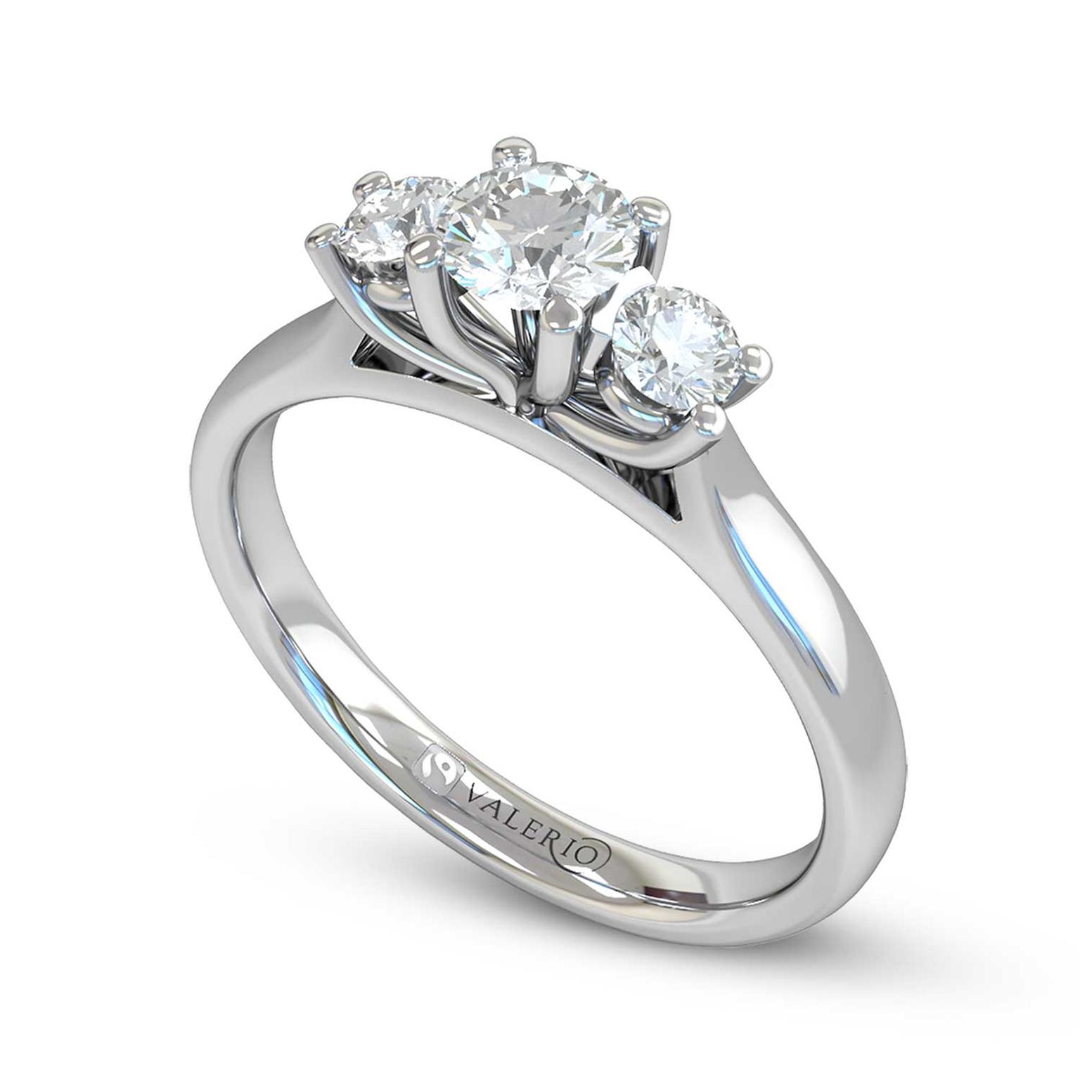 colette audrey engagement rings and ethical fairtrade collections ring jewellery claude halo diamond