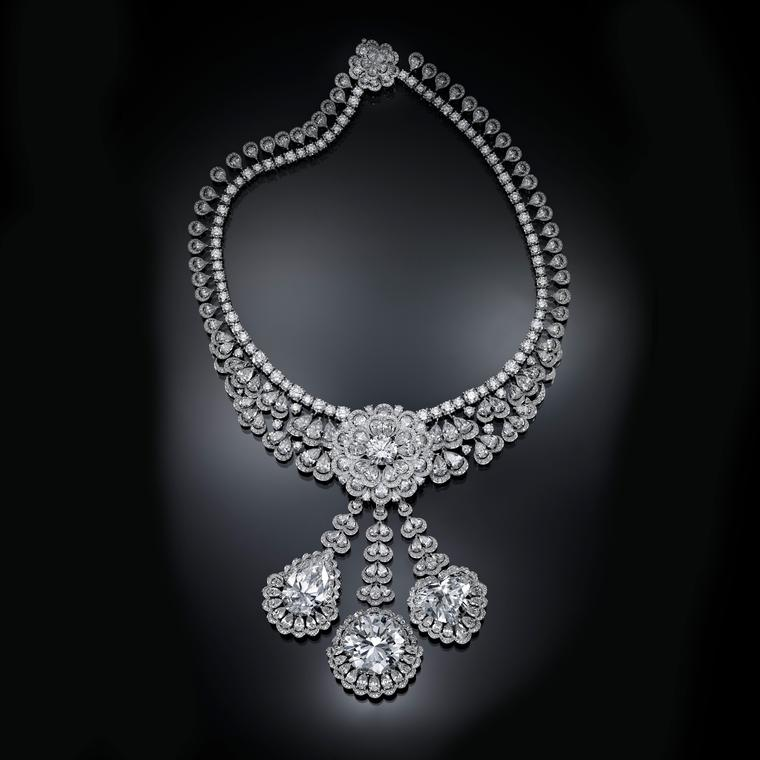 Chopard's Garden of Kalahari diamond necklace