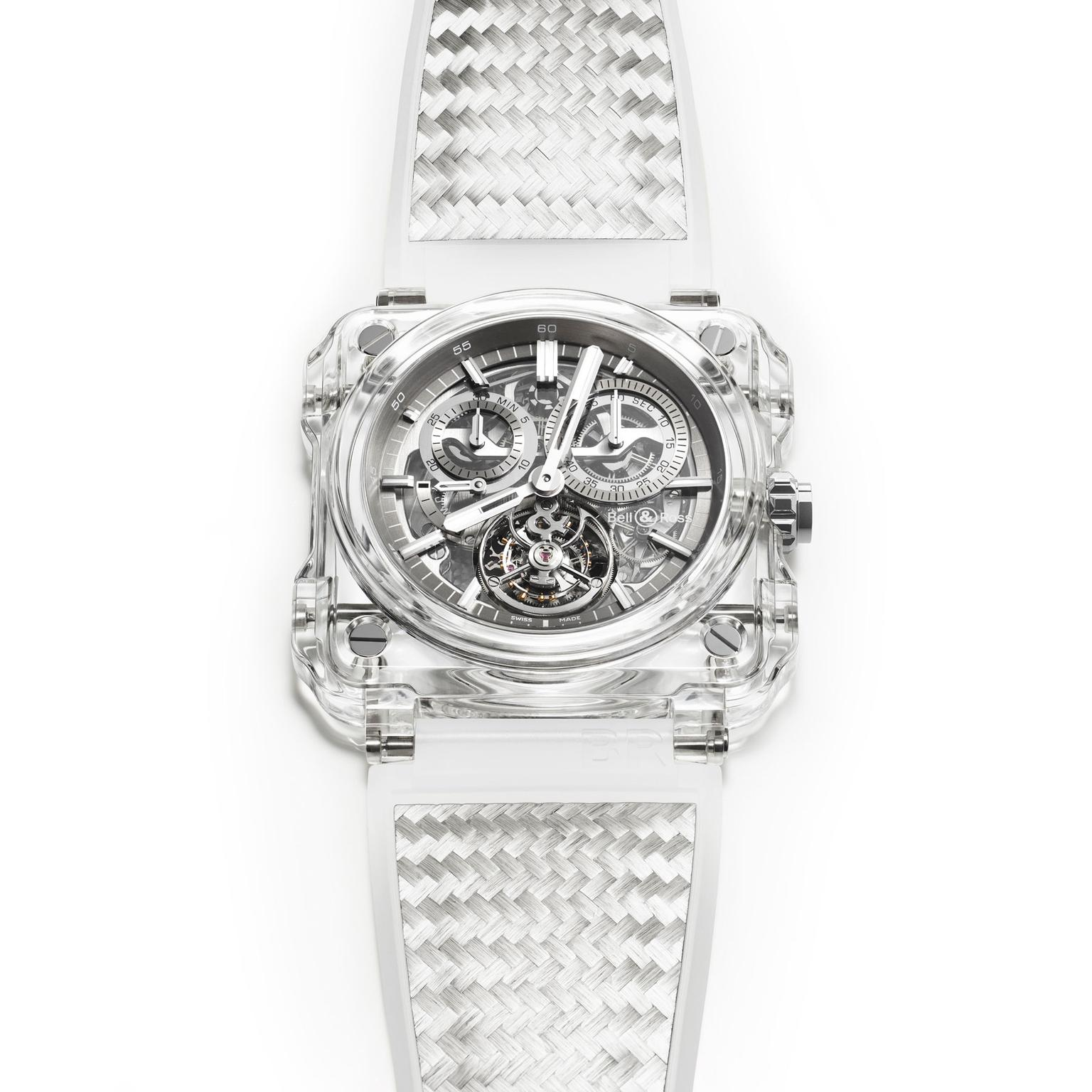 Bell & Ross BR-X1 Chronograph Tourbillon watch