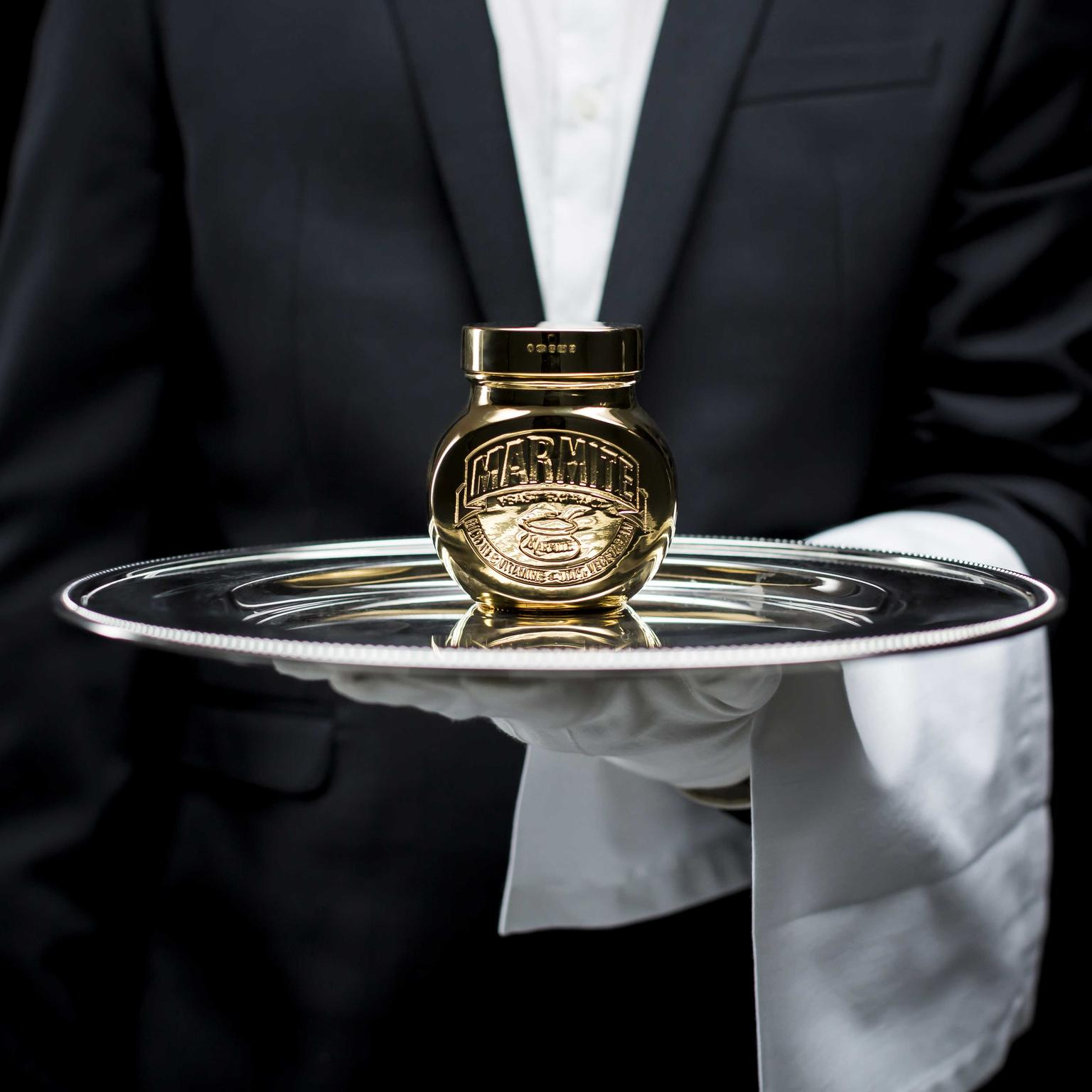 The Marmite Golden jars weighs 498 grs