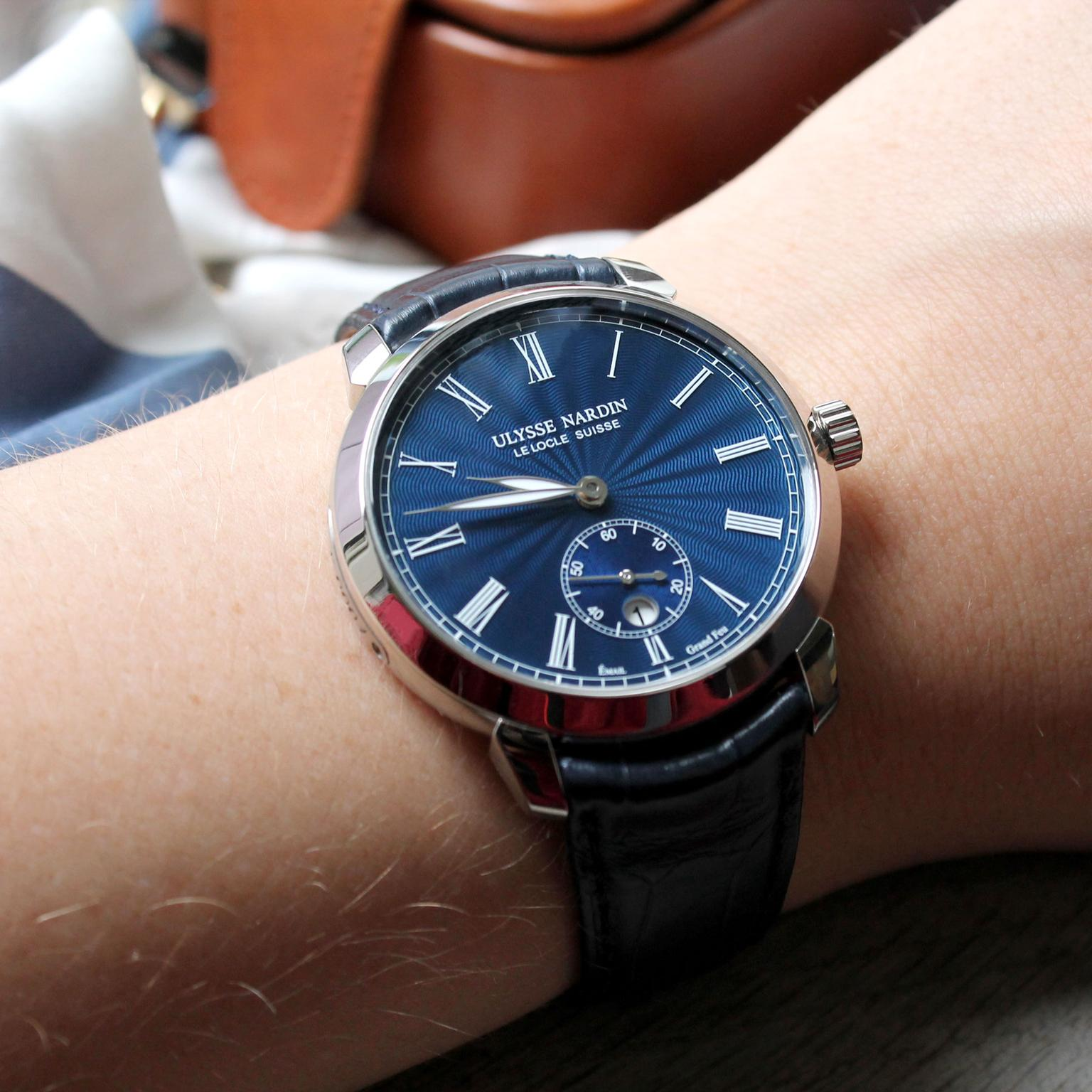 Ulysse Nardin Classico Small Second Manufacture watch