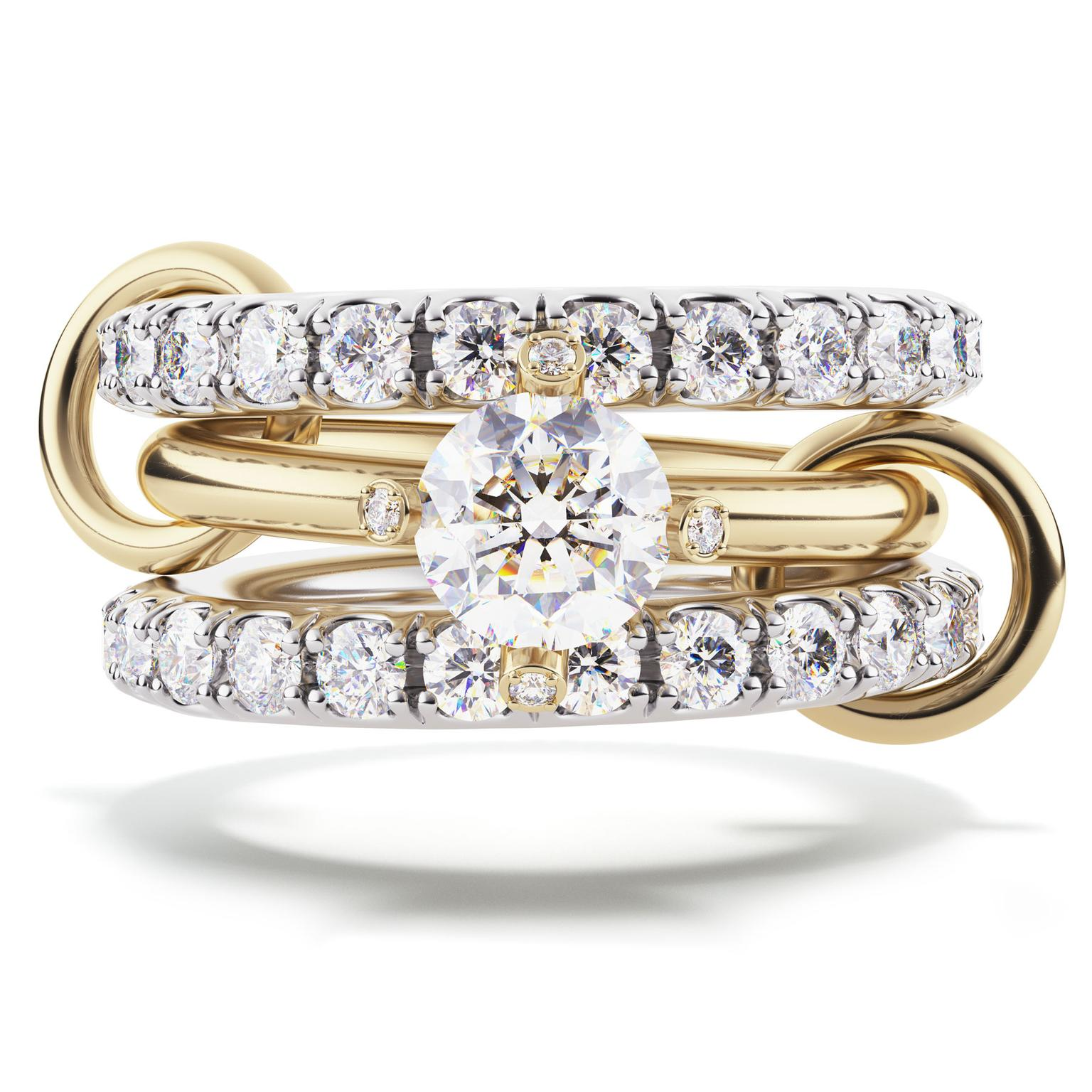 Spinelli Kilcollin Amor engagement ring