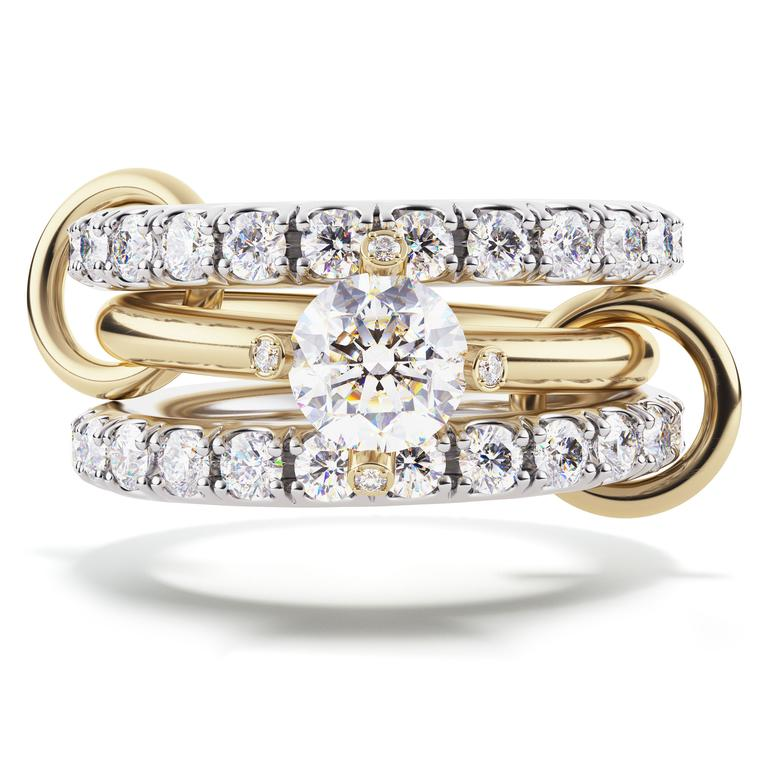Amor 2-carat diamond engagement ring