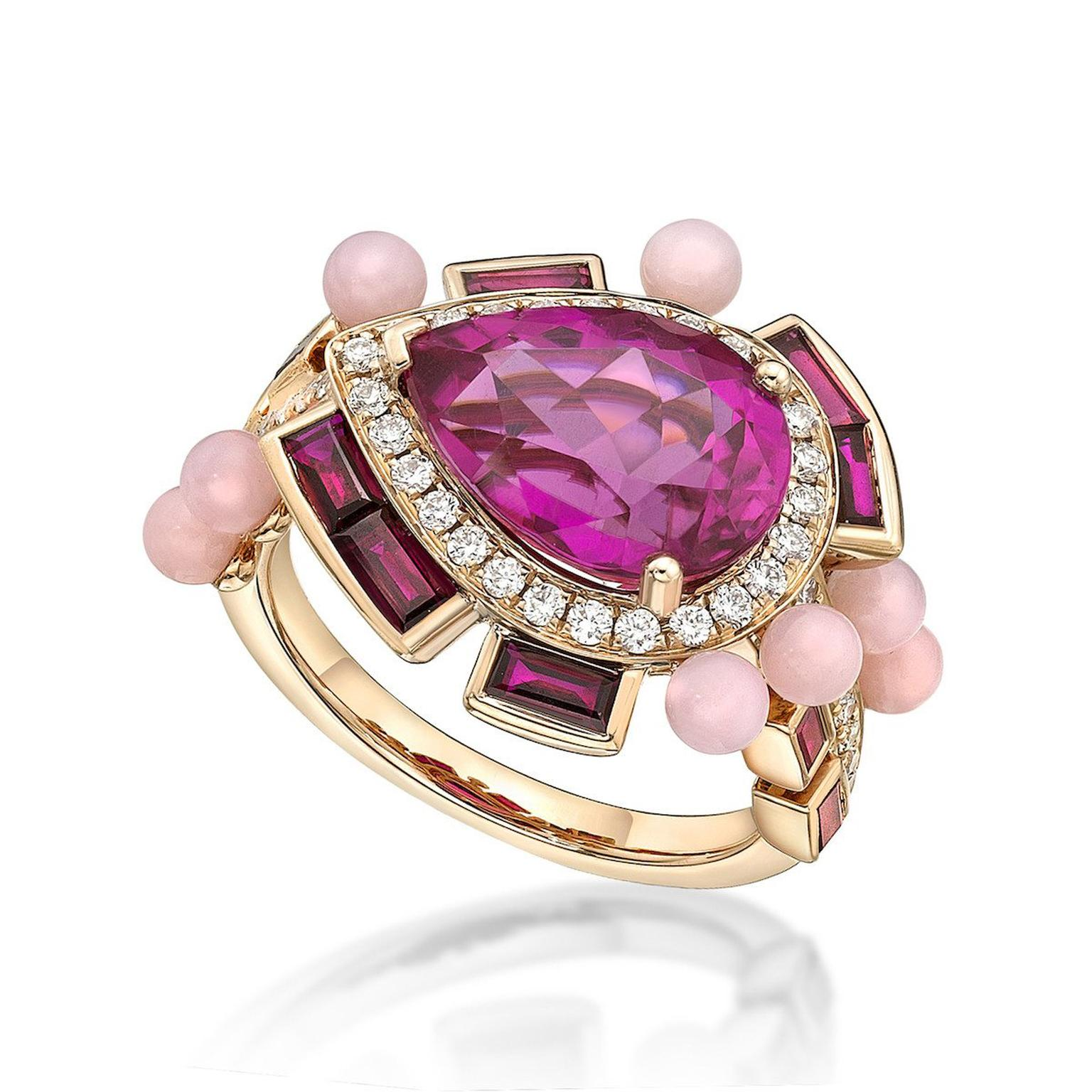 Hot-pink gems for the height of summer