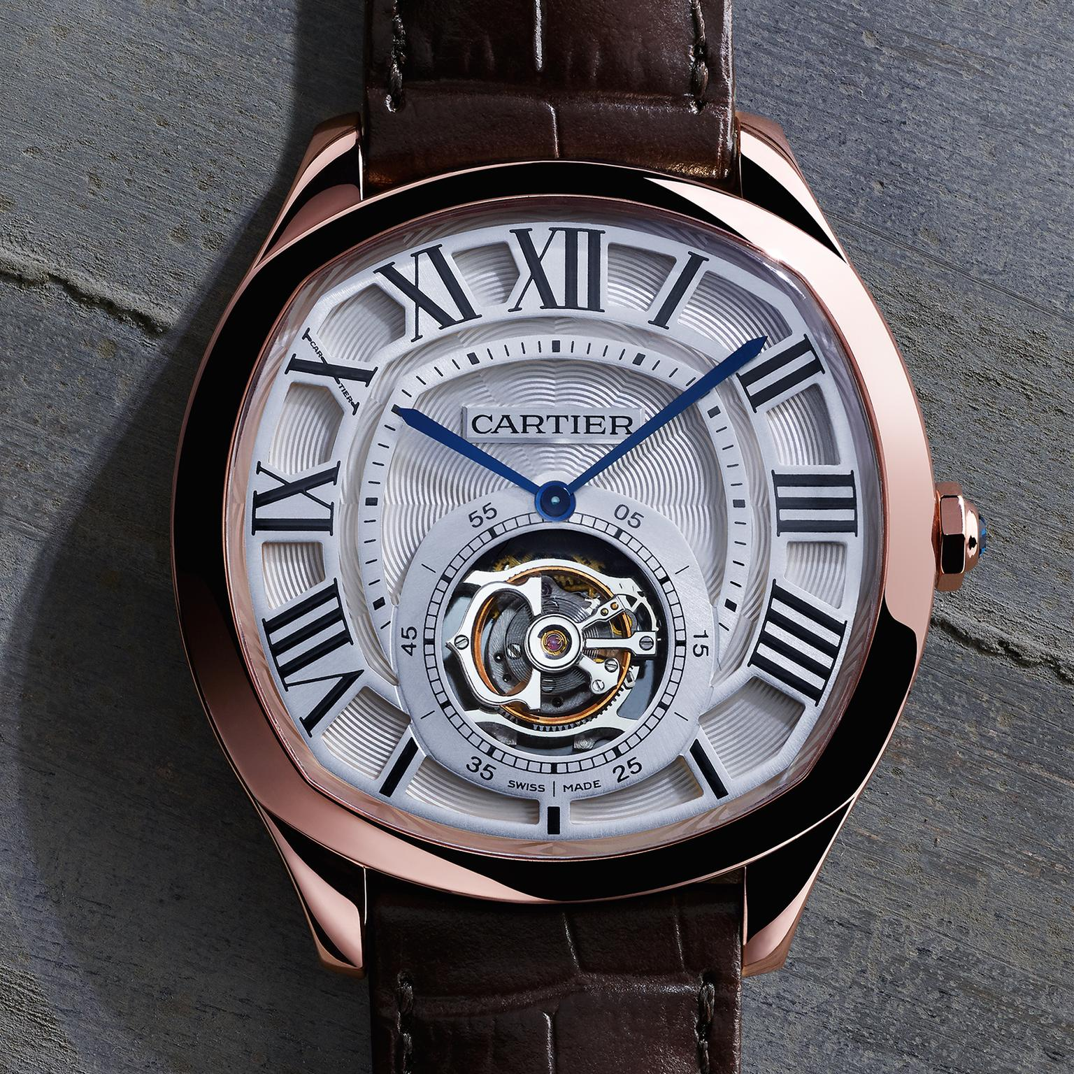 Cartier Drive watch in rose gold