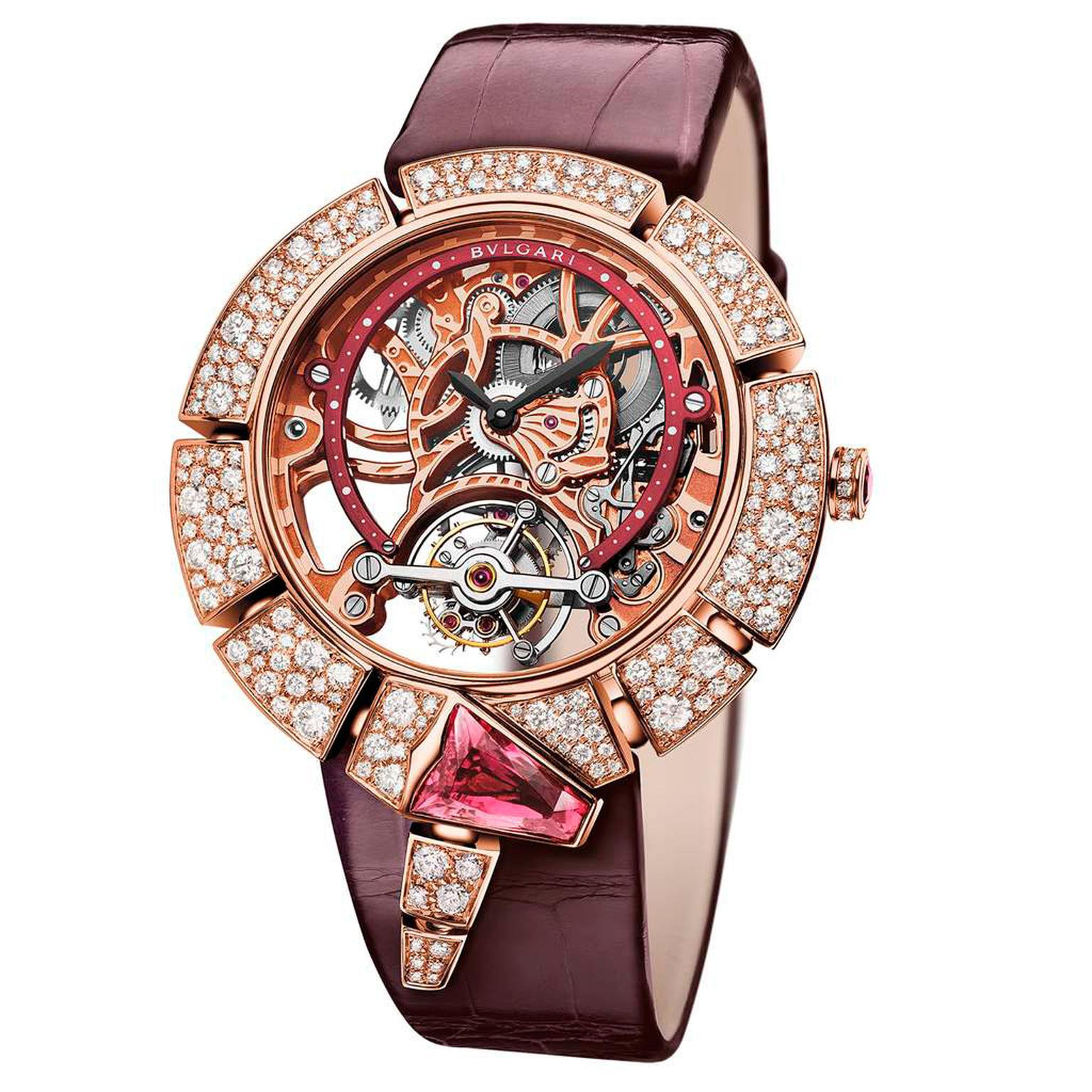 GPHG 2016 Bulgari Serpenti Incantati Tourbillon Lumière watch