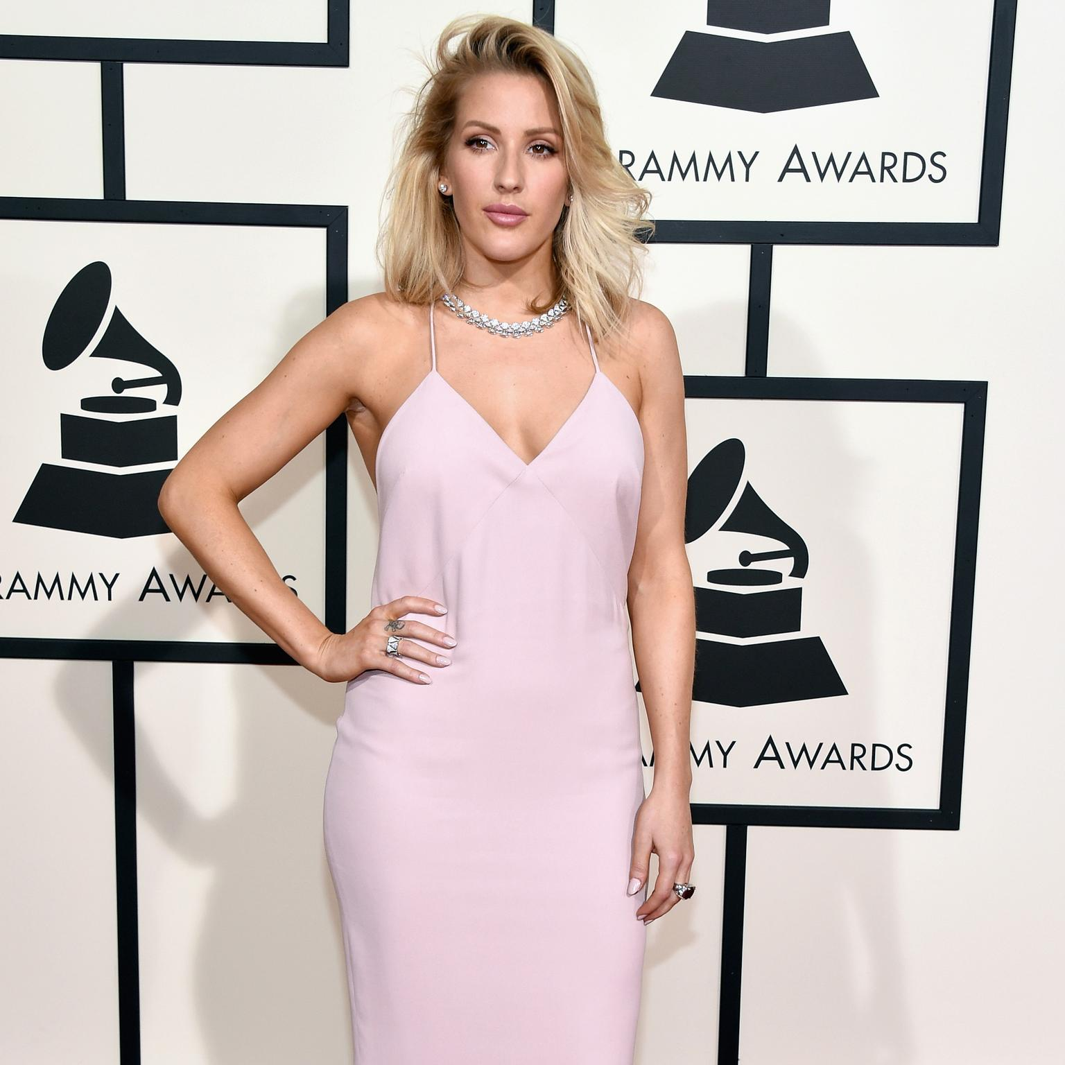 Ellie Goulding wearing Bulgari jewellery