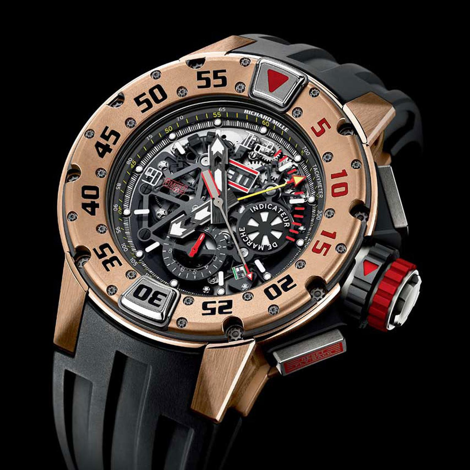Richard Mille dive watch WS Theme square