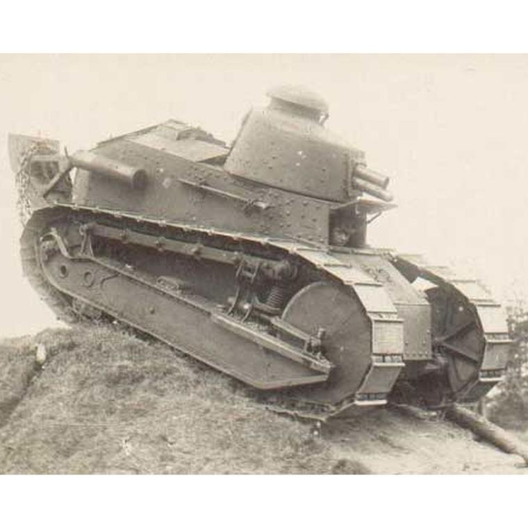 A WW1 Renault tank provided the inspiration for Cartier's now iconic Tank watch.