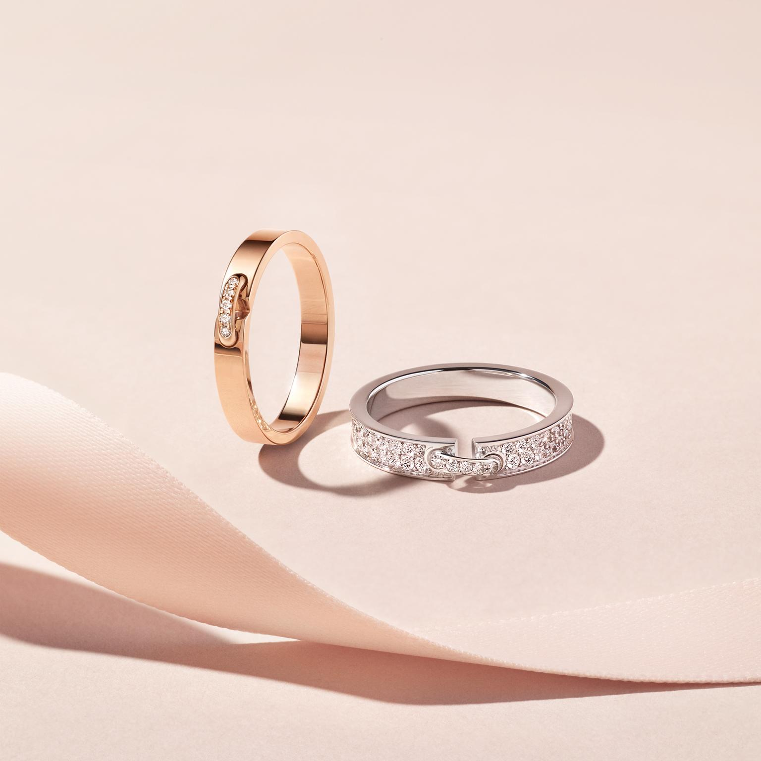Chaumet Liens Evidence wedding bands