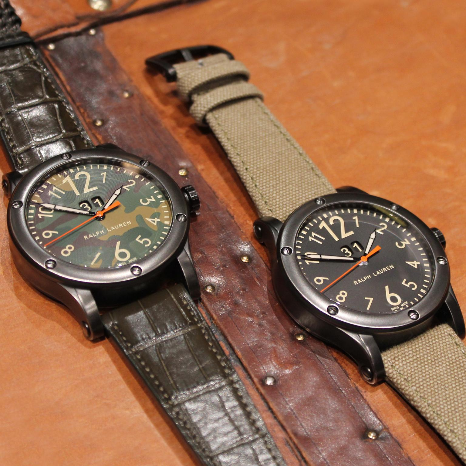 Ralph Lauren Safari Grand Date watches