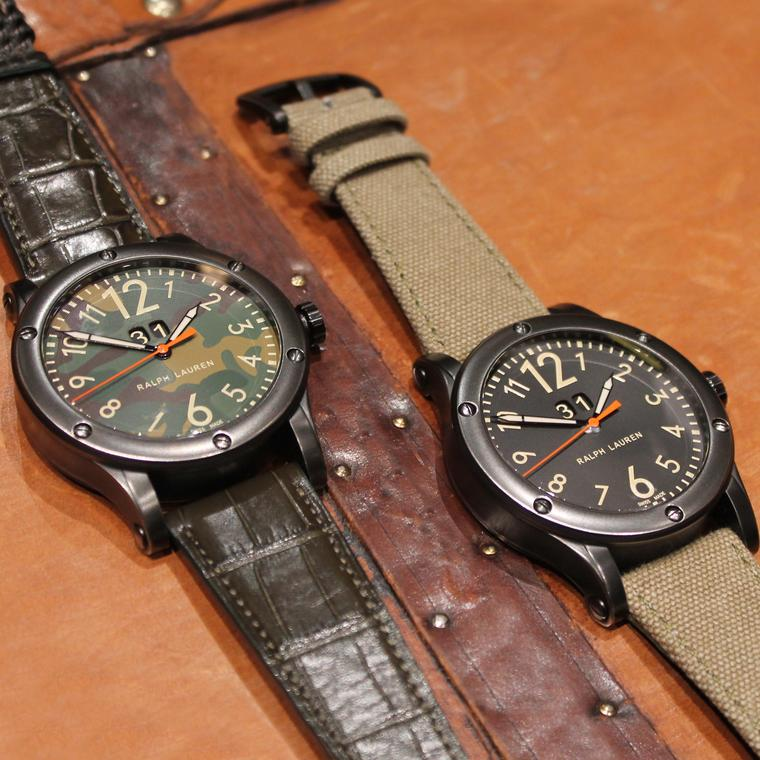 Big cats: Ralph Lauren's new Safari watches