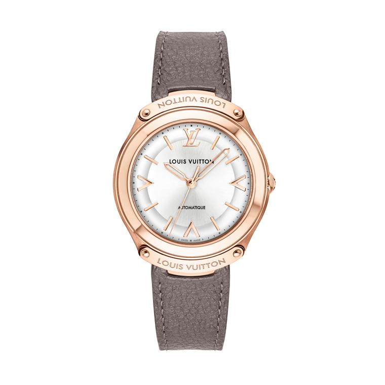 LV Fifty Five watch in pink gold