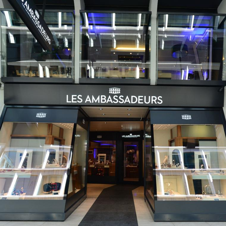 Les Ambassadeurs watch boutique in Geneva