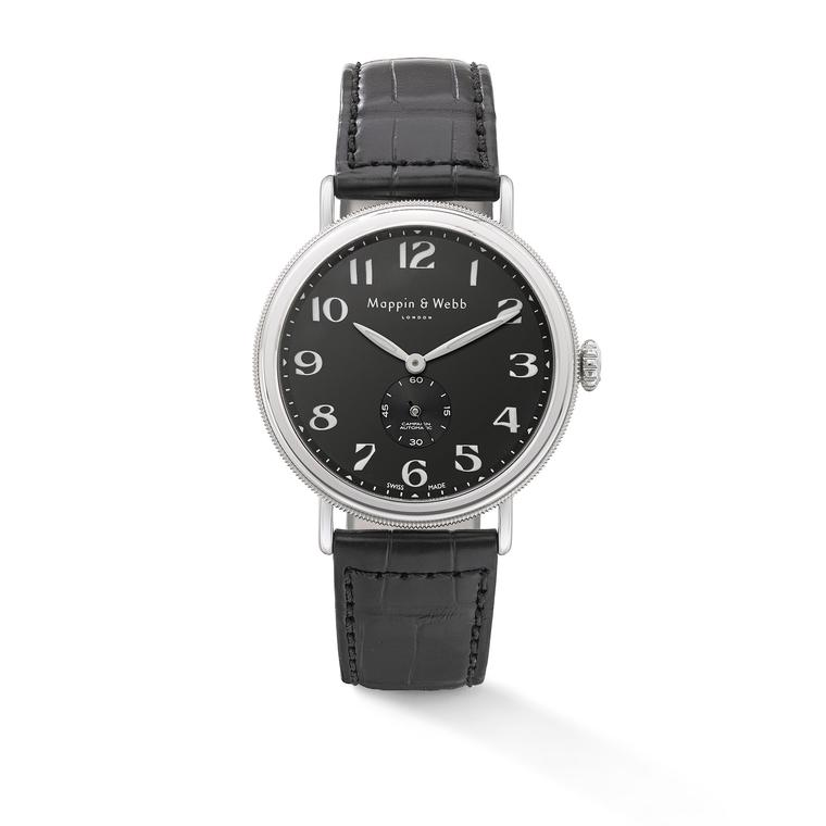 Campaign Automatic watch with a black dial