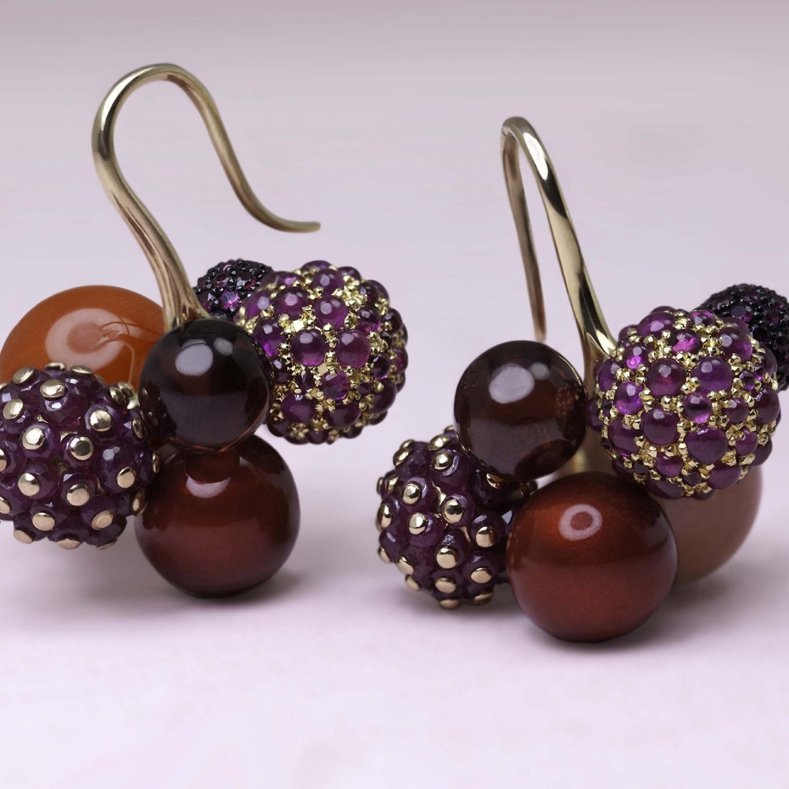 Berry Earrings from Ming