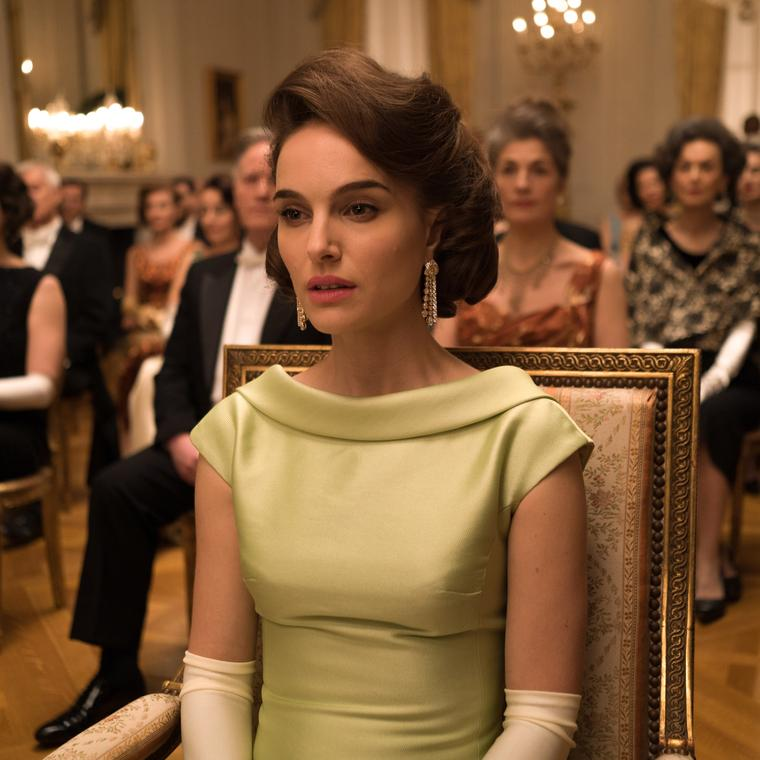 Natalie Portman as Jackie Kennedy in the new film