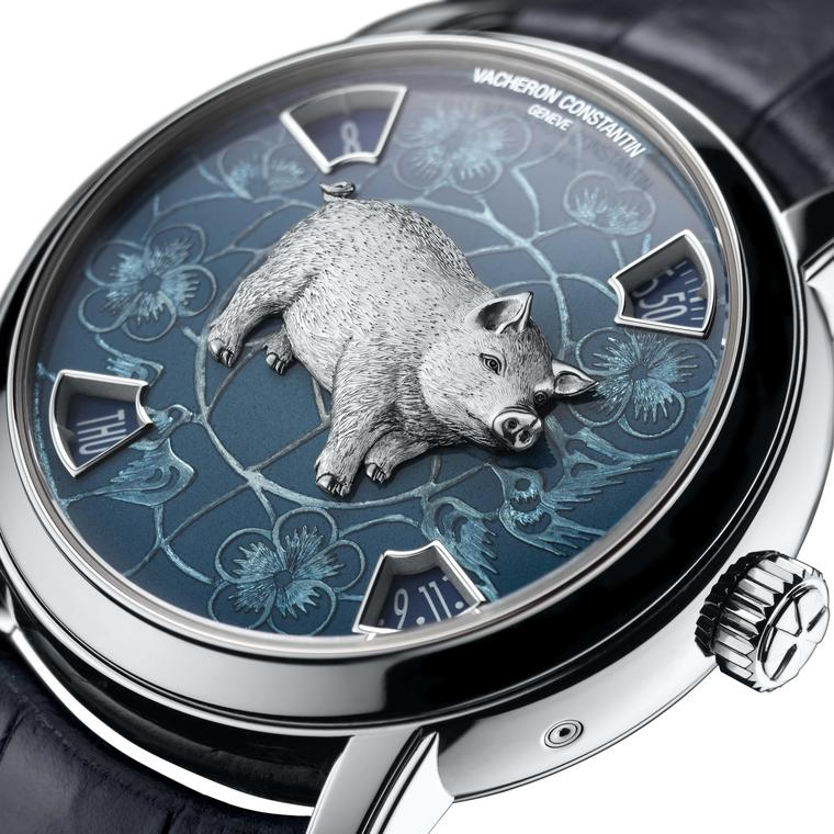 Vacheron Constantin The Legend of the Chinese Zodiac  Year of the Pig platinum version