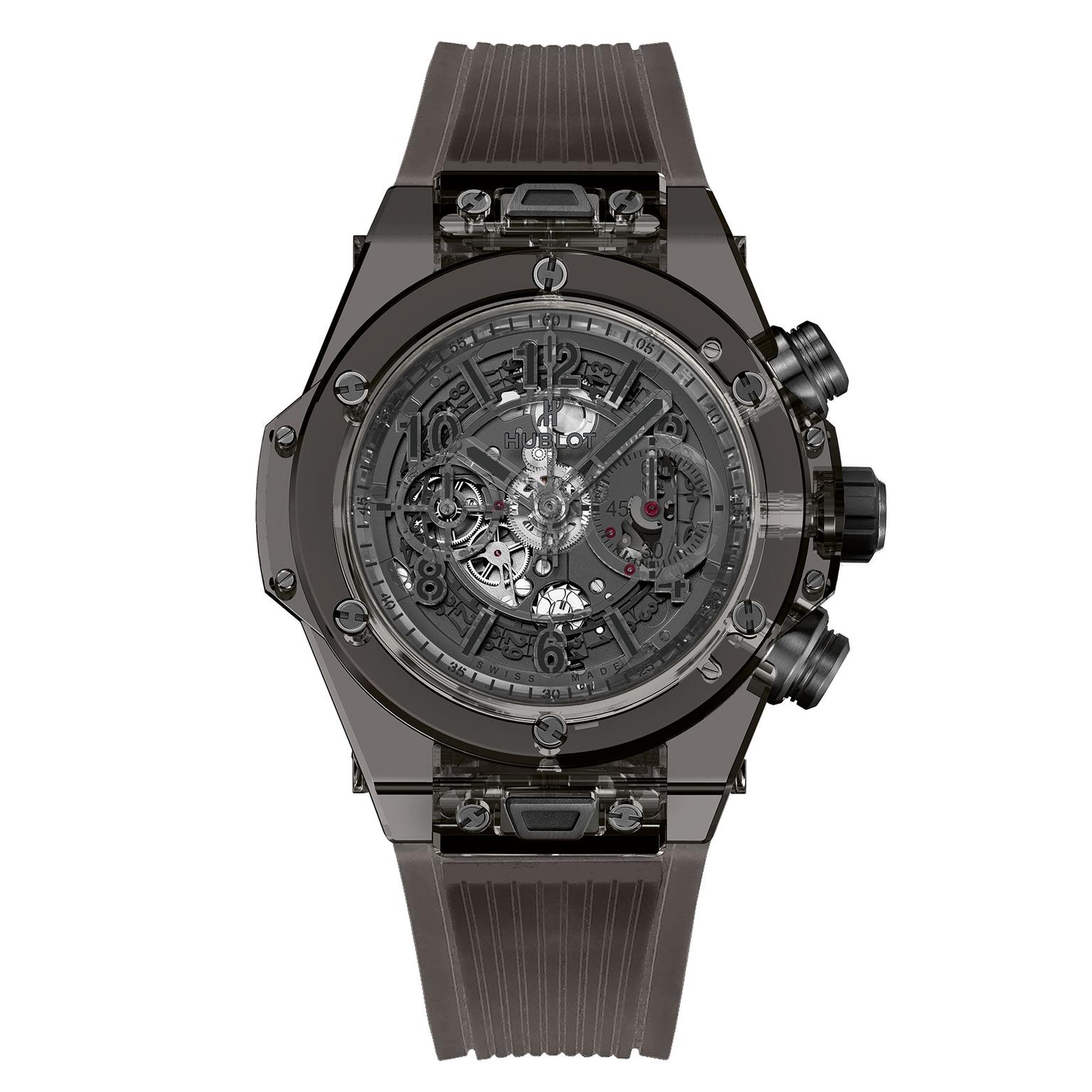 Hublot Big Bang Unico Sapphire All Black watch