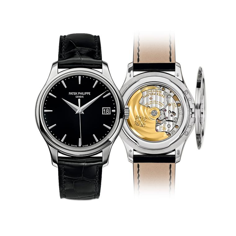 Patek Philippe Calatrava Ref. 5227G  watch with hinged caseback