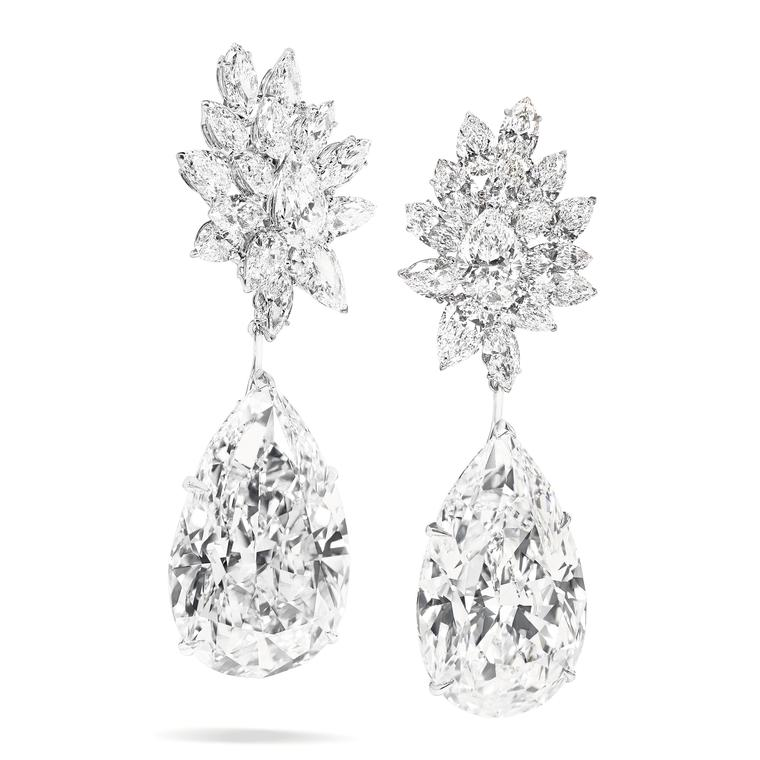 Mirror de l'amour diamond earrings