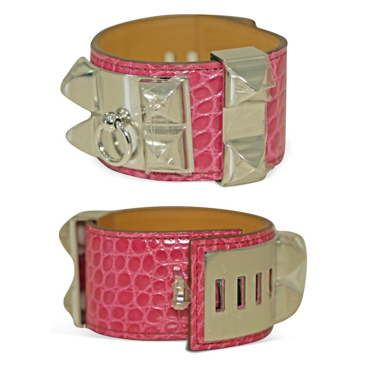 Paddle 8 Hermes Collier de Chien pink cuff