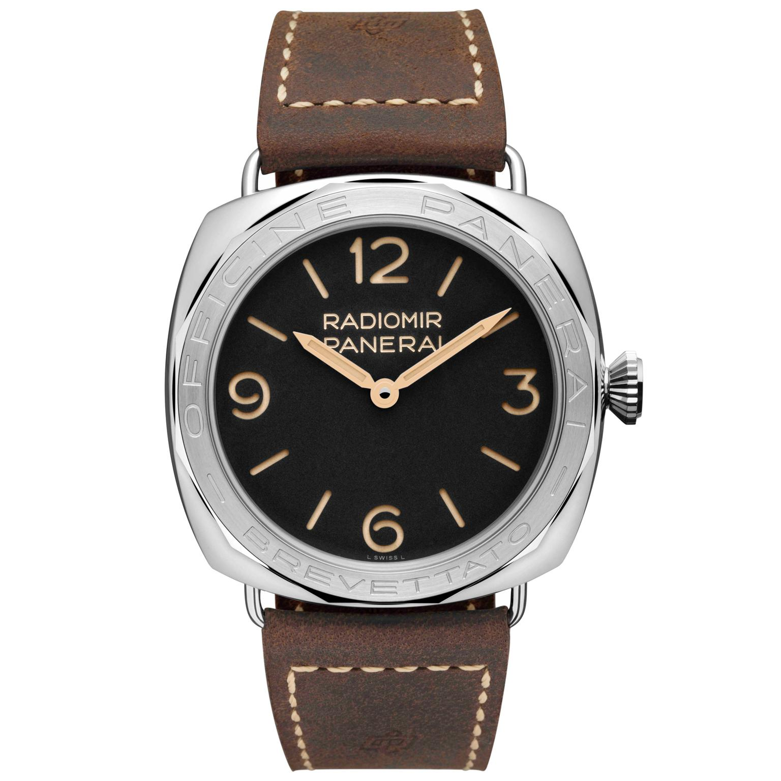 Panerai Radiomir 3 Days Acciaio black dial watch