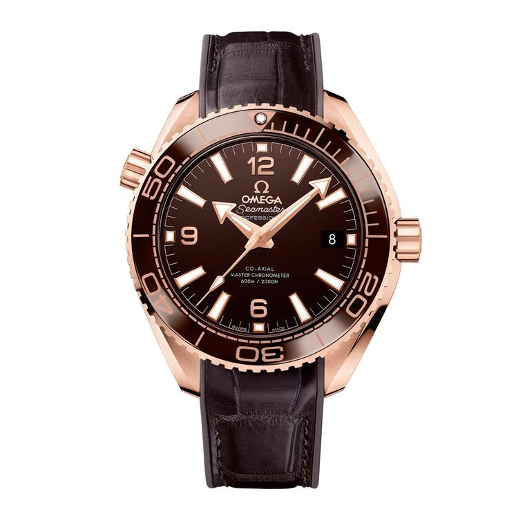 Omega Seamaster Planet Ocean watch
