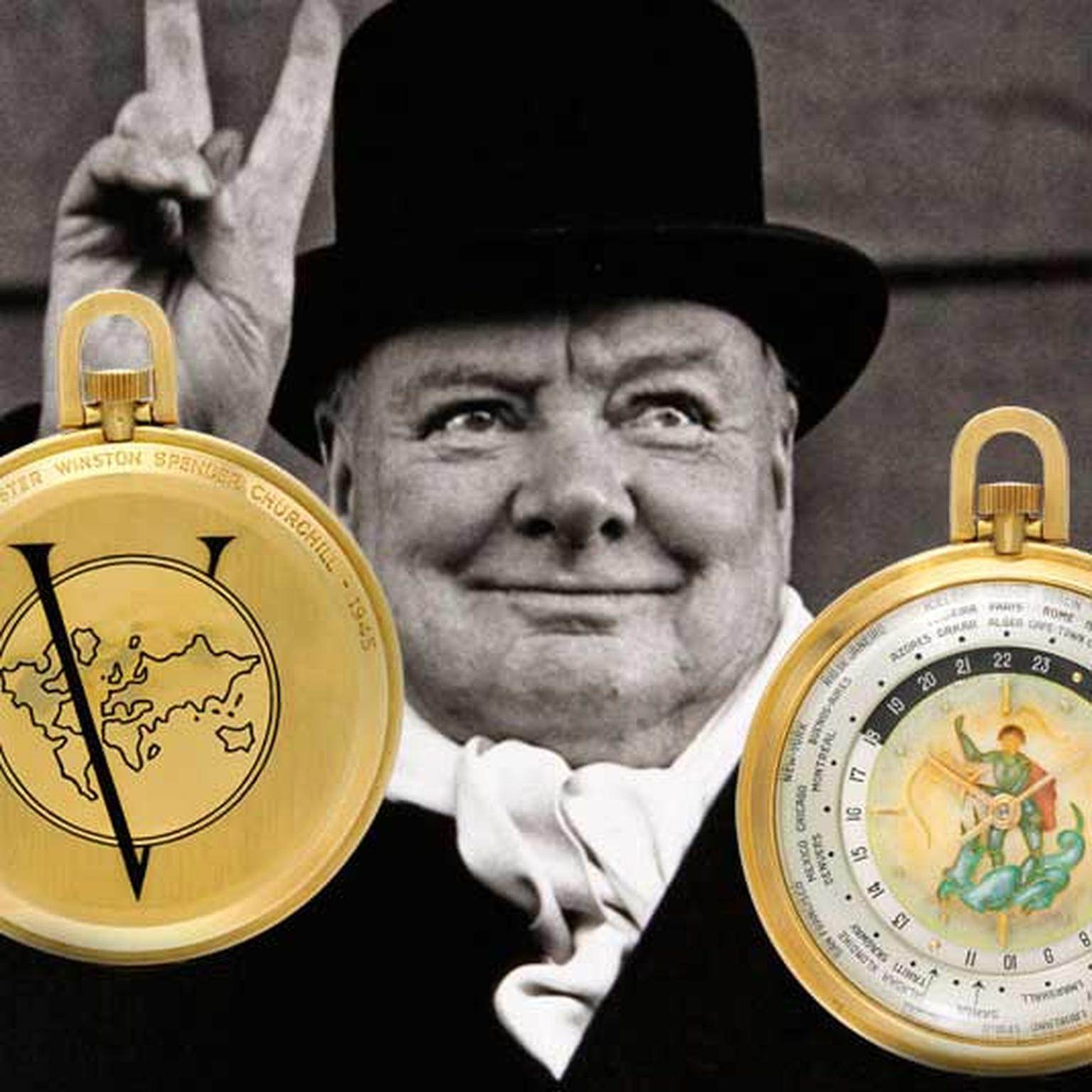 Winston Churchill V for Victory watch