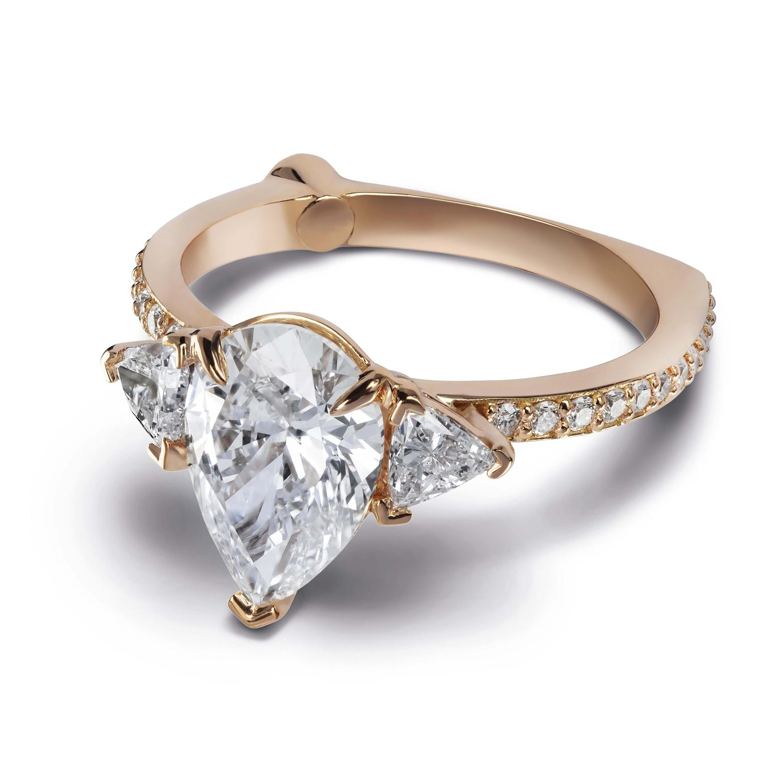 The Diamond Foundry Alessa Jewelry ring