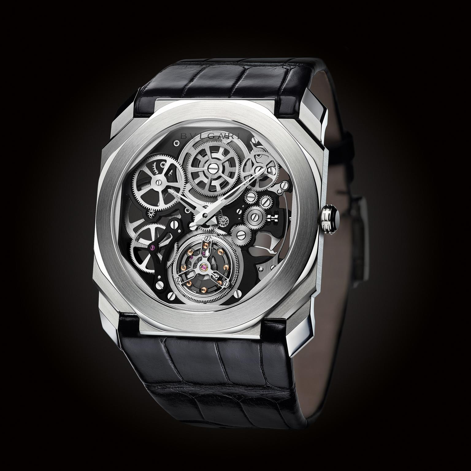 Bulgari Octo Finissimo Tourbillon Skeleton watch