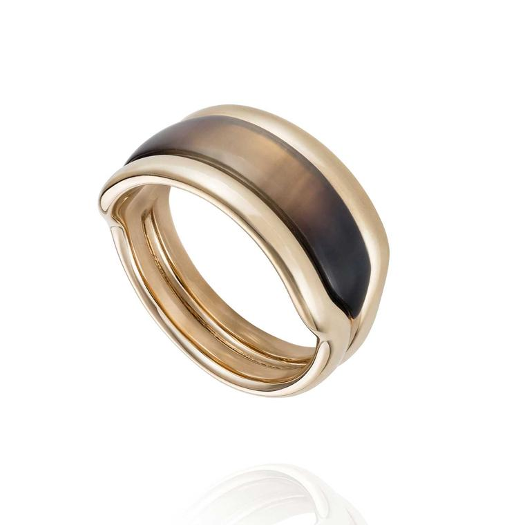 Fernando Jorge Parallel Horn Tag ring