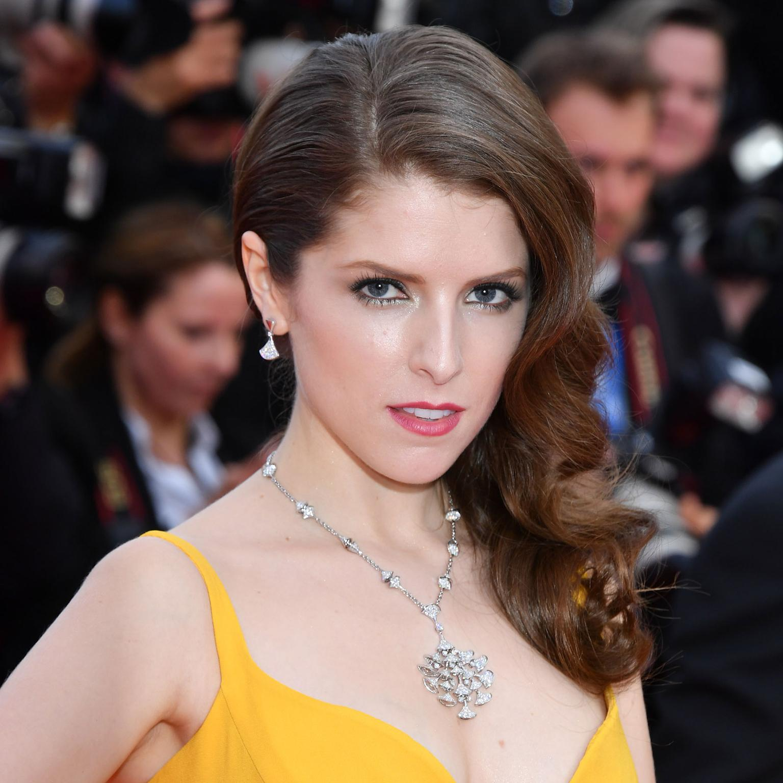 Cannes 2016 Day 1: Anna Kendrick in Bulgari