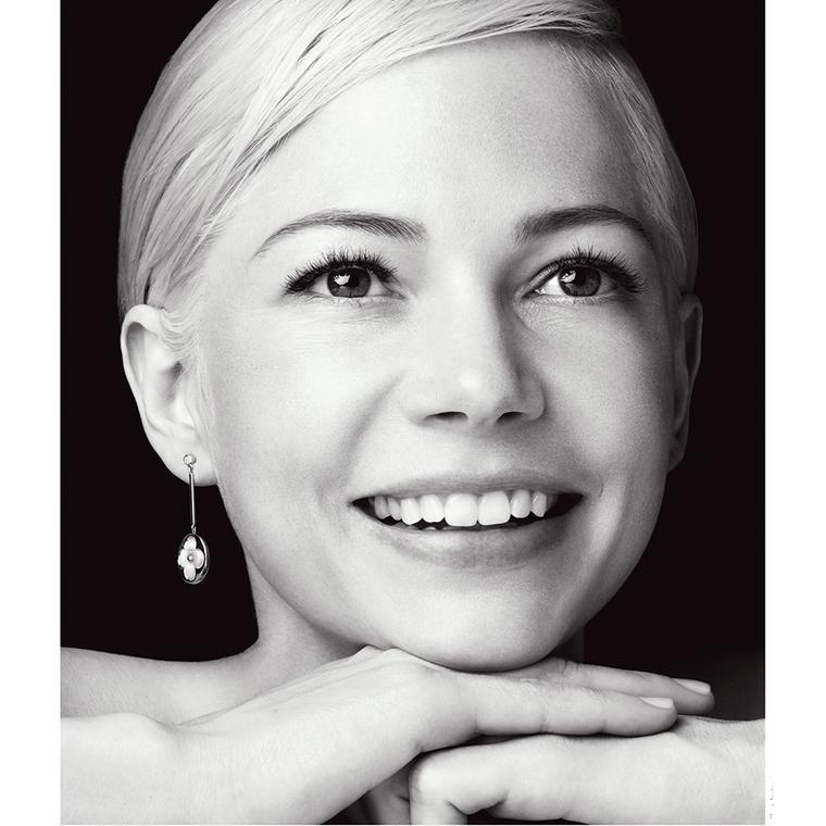 Louis Vuitton with Michelle Williams Blossom Color BB jewels