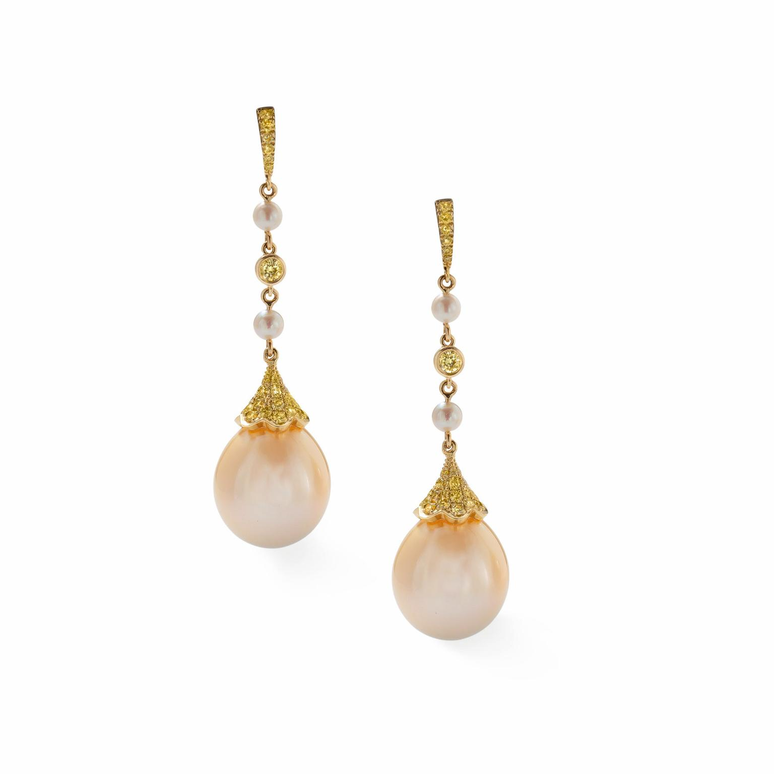 Boodles pearl earrings