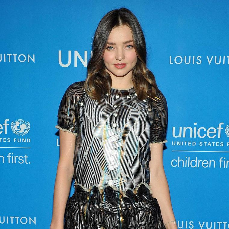 Miranda Kerr at the UNICEF Ball