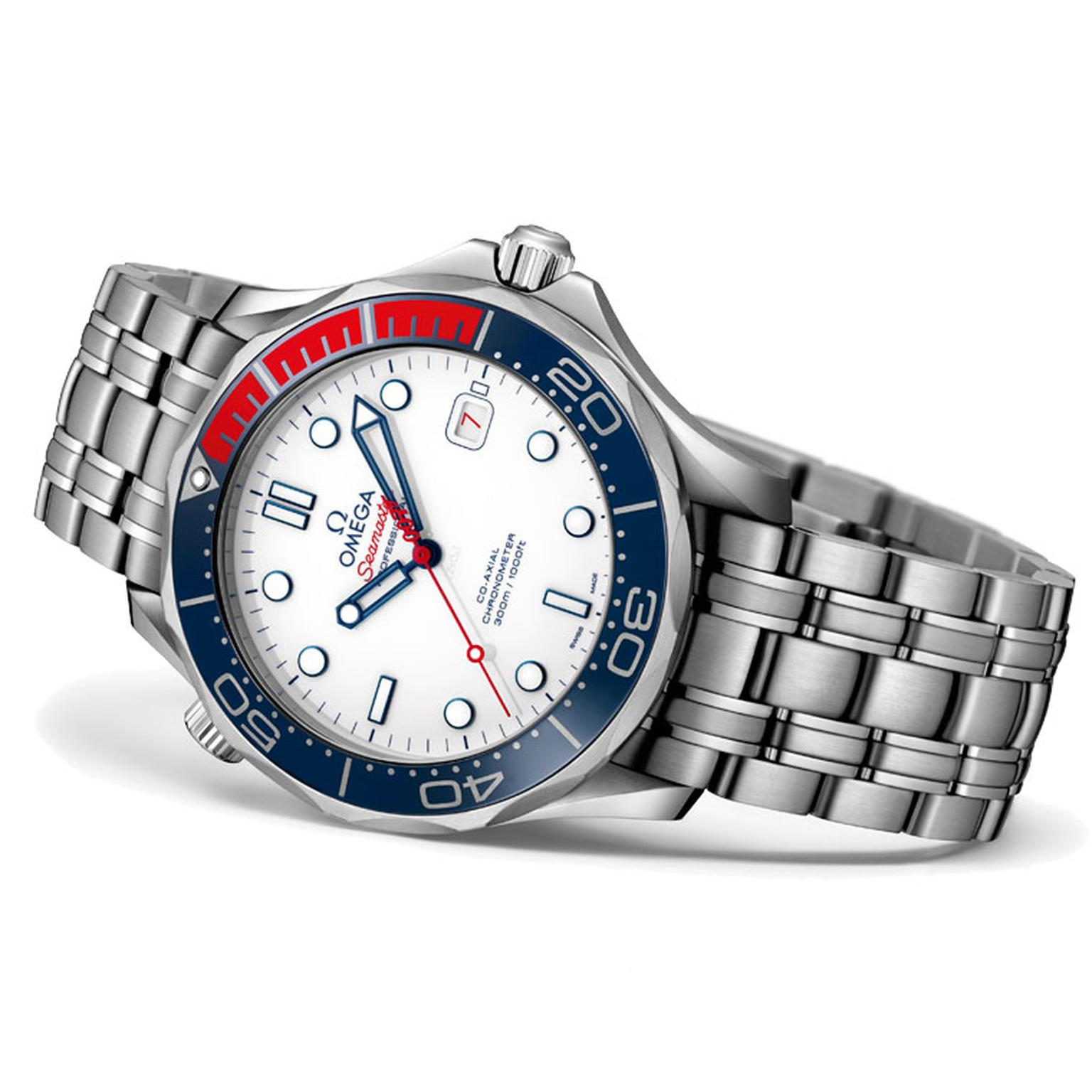 Omega Seamaster Commander's Watch steel bracelet