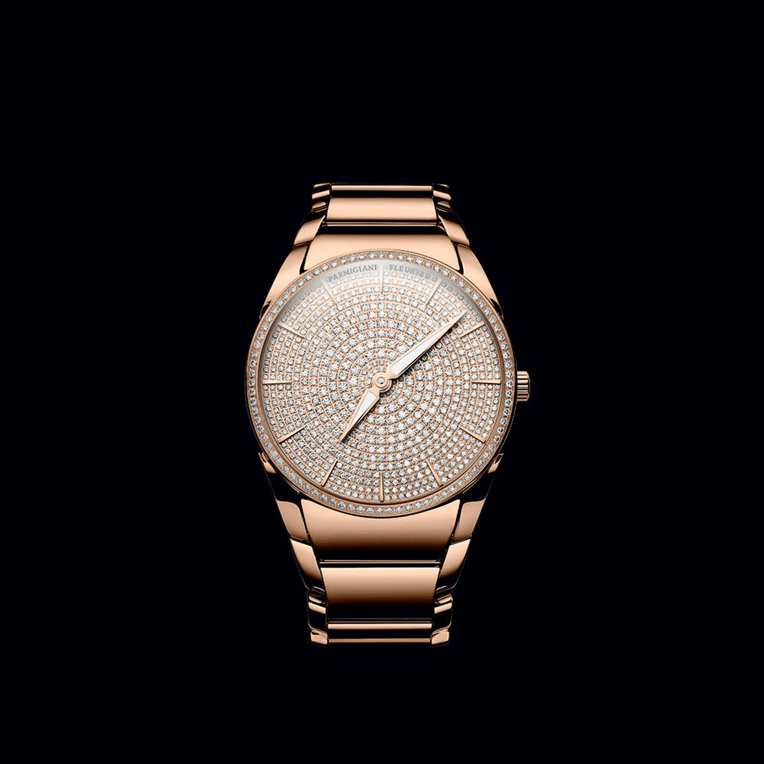 Parmigiani Tonda Clarity diamond watch