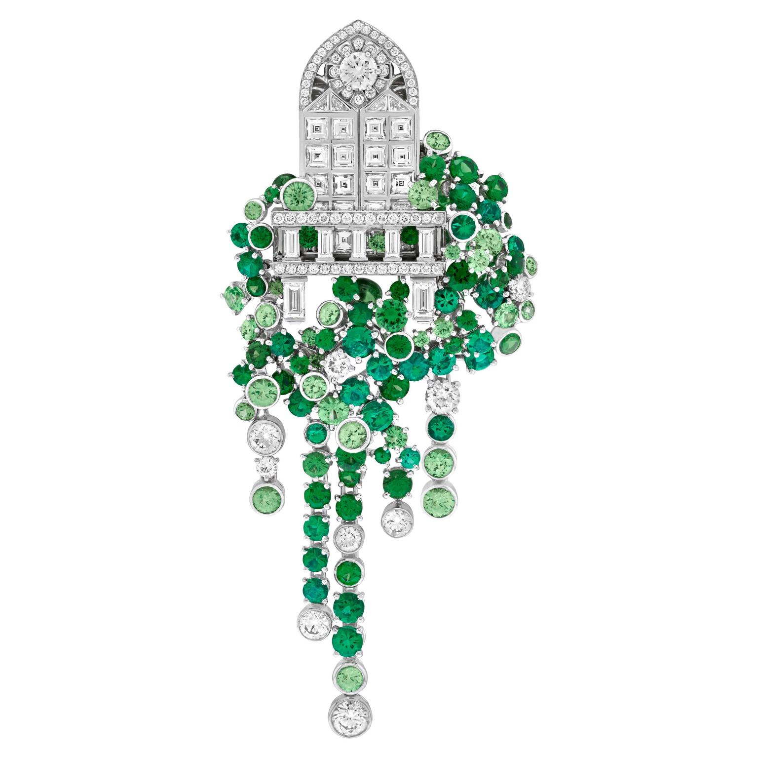 Van Cleef & Arpels Balcone brooch Romeo and Juliet jewels