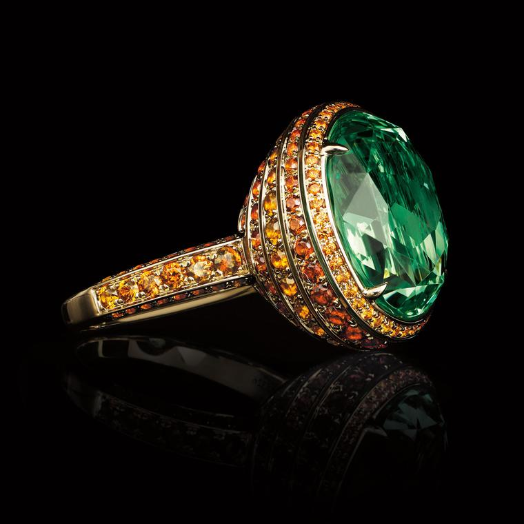 Tsavorites: vivid colour and extraordinary brilliance